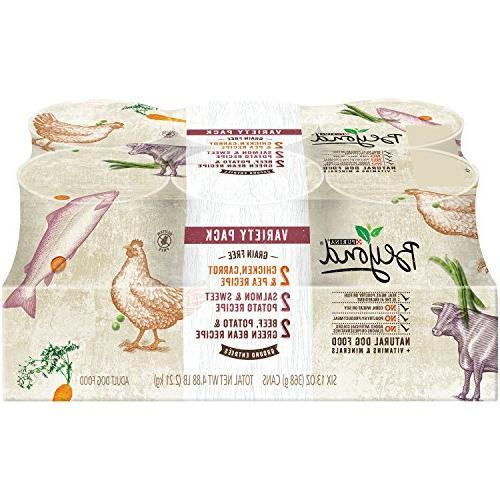 Purina Beyond Natural Grain Free Ground Wet Dog Food Variety