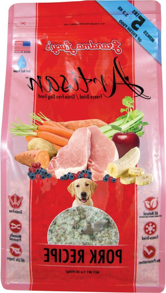 Grandma Lucy's Free Freeze Dog Food