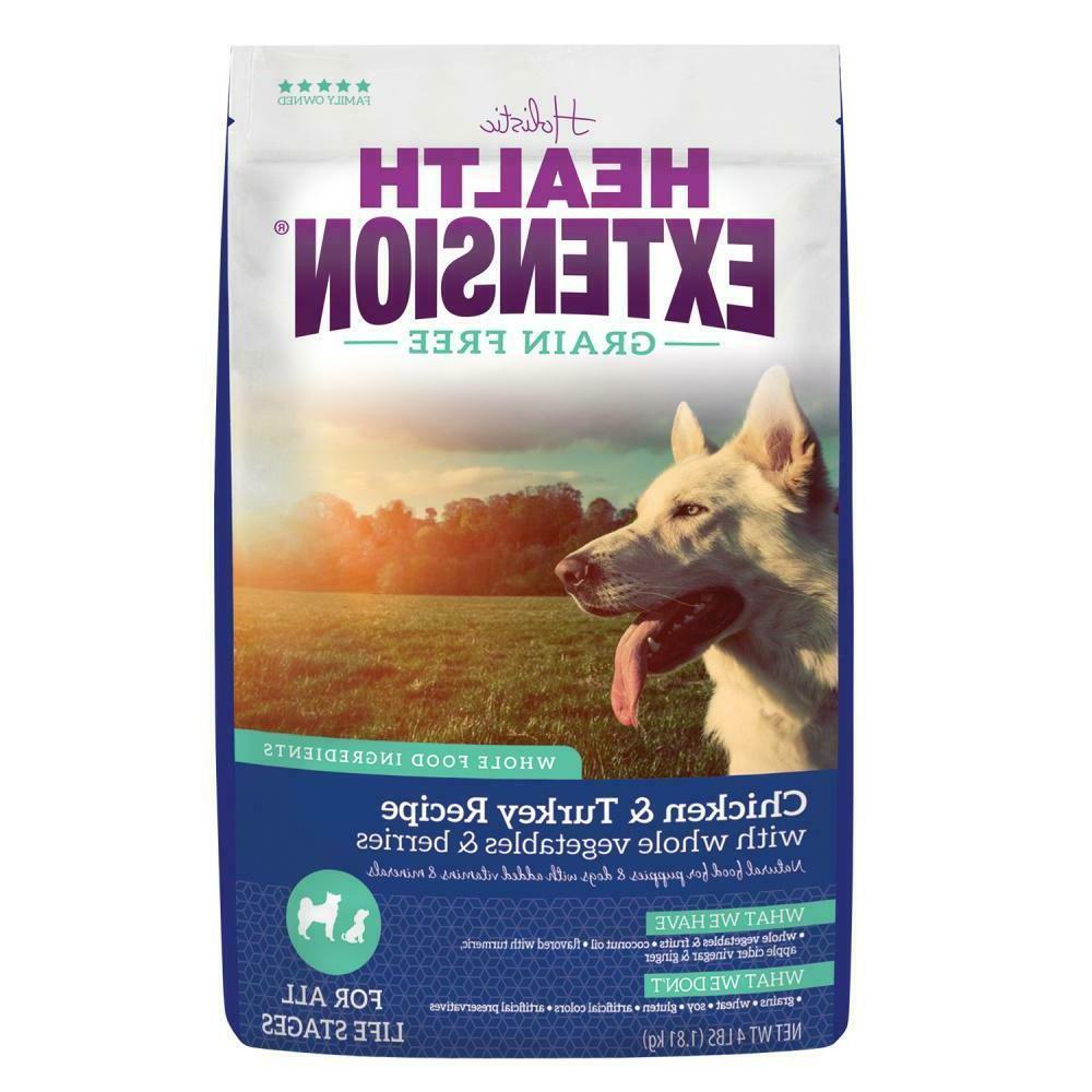 health extension grain free chicken and turkey