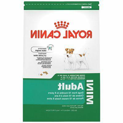 health nutrition mini dry dog