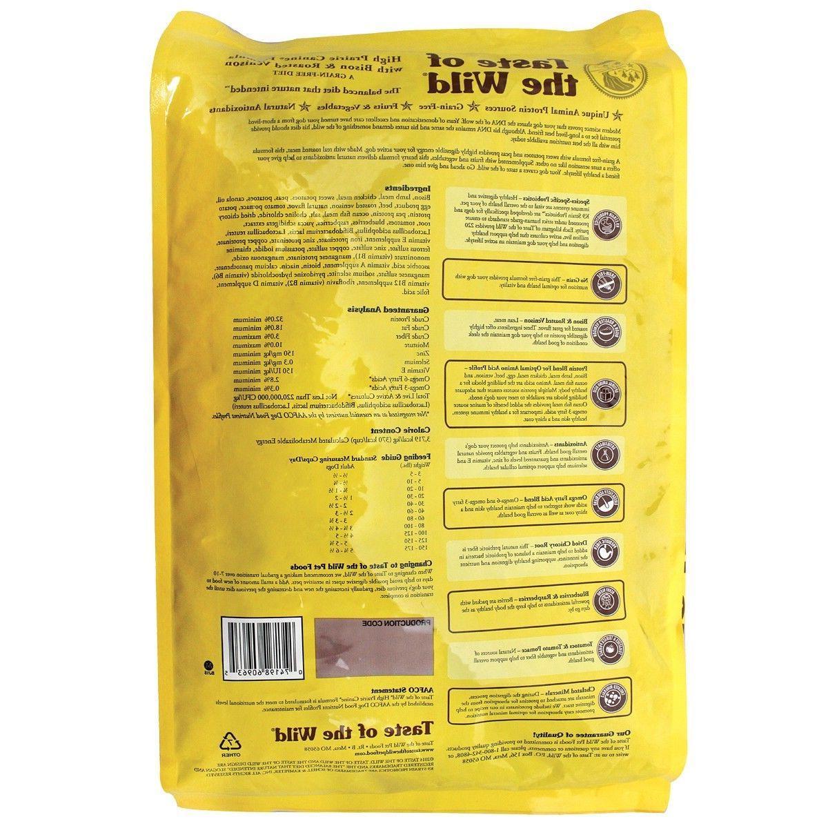 Taste of the High Dog Food 30-LB