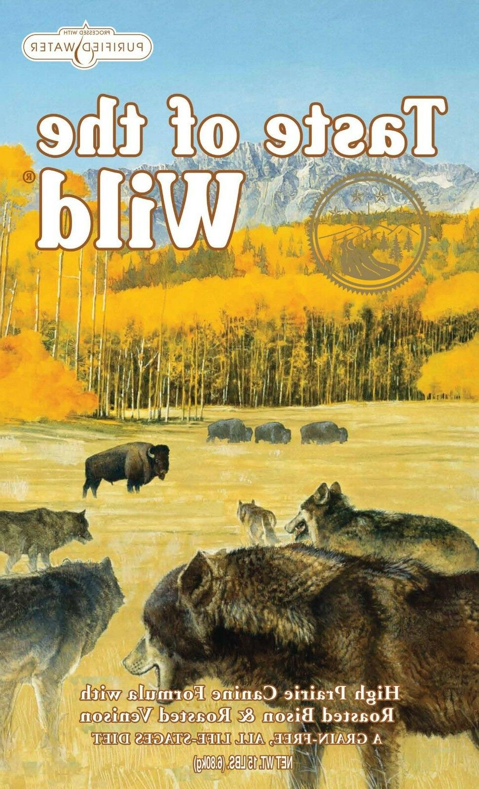 high prairie grain free dry dog food
