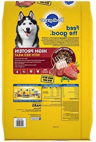 Pedigree High Protein Adult Dry & Lamp
