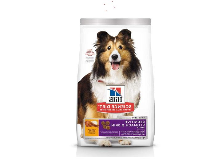 hill s dry dog food adult sensitive