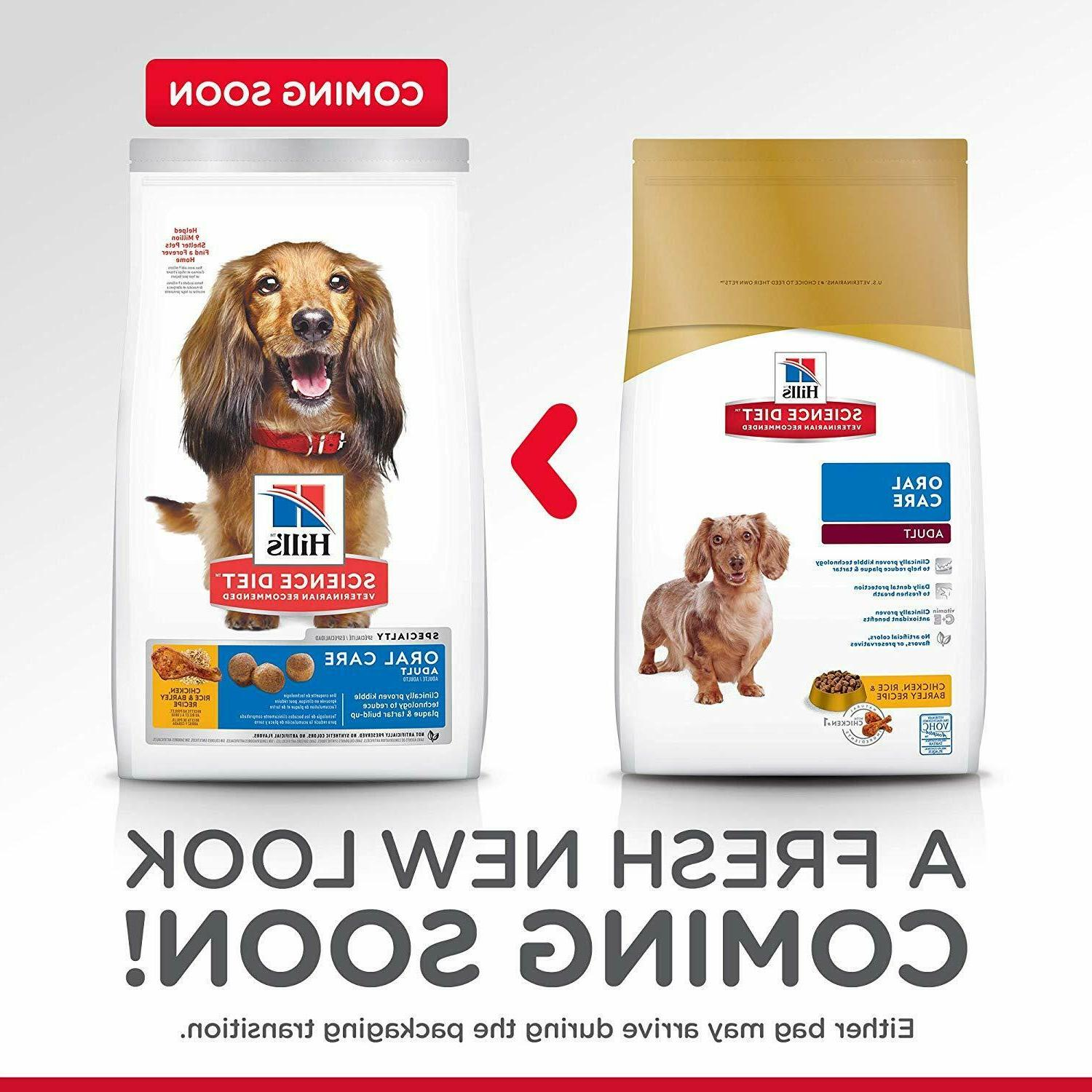 Hill'S Diet Oral Care & Barley Recipe Dry Dog
