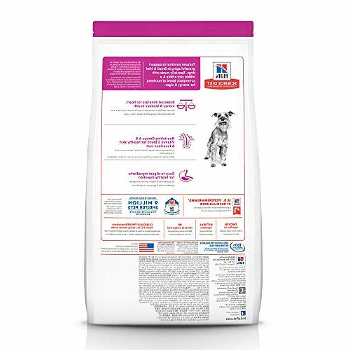 Hill's Dog Food, Adult 7+ for Senior Paws, Chicken