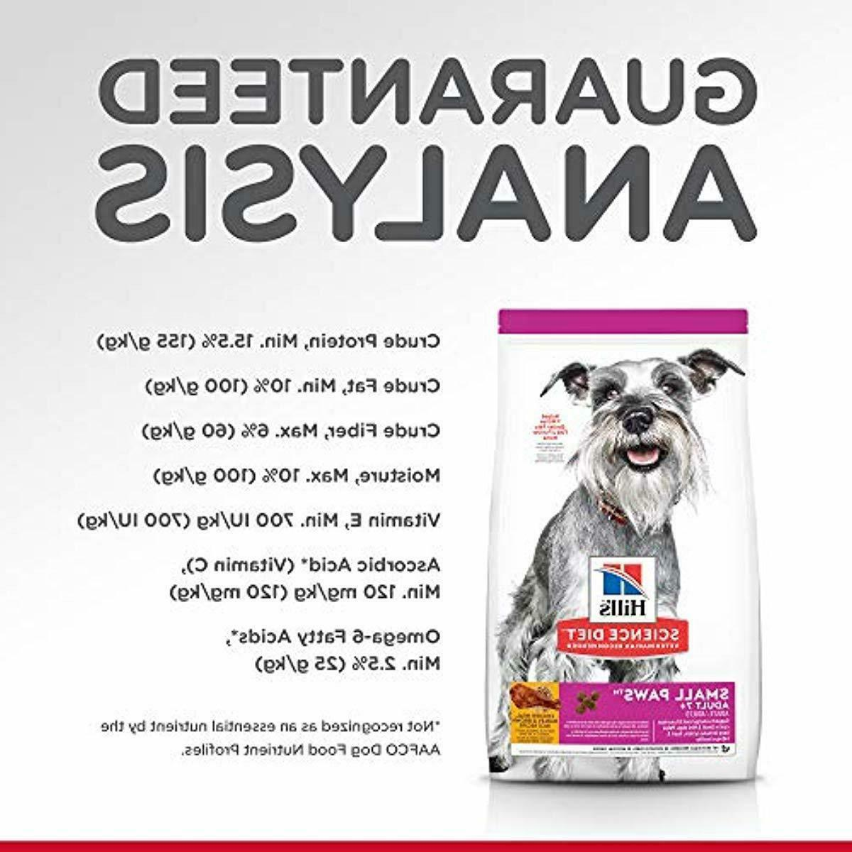 Hill's Science Diet Dog Food, for Senior Dogs, Small Paws,