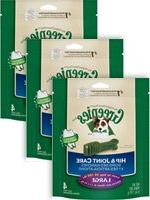 Greenies Hip & Joint Care Dental Chews For Dogs 6oz Large -