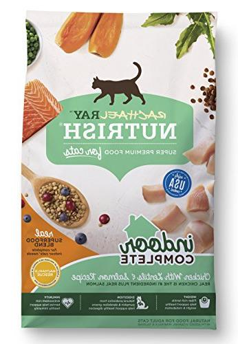 indoor complete dry cat food