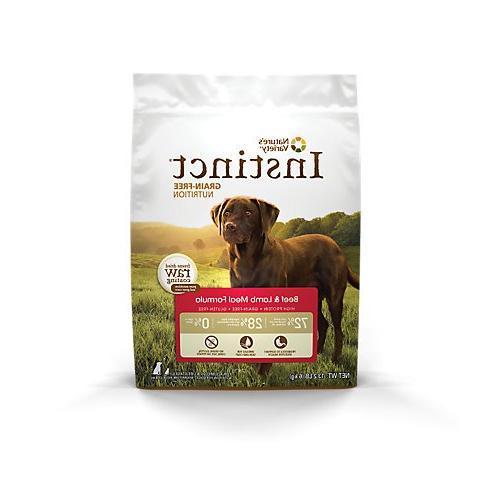 instinct beef dry dog food