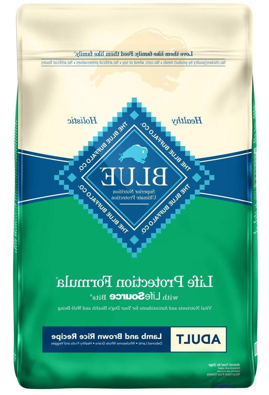 Blue Buffalo Life Protection Formula Adult Dry Dog Food, Lam