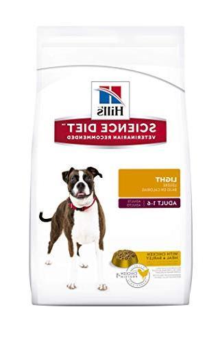 light dry dog food pet