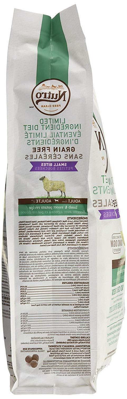 NUTRO Limited Ingredient Adult Dog Grain Free w/ Vitamins