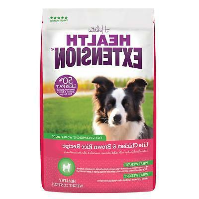 Health Extension Lite Chicken & Brown Rice Recipe, 4lb, FAST