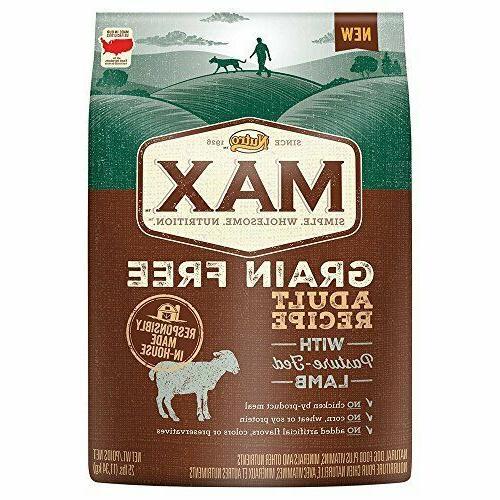max grain dry dog food