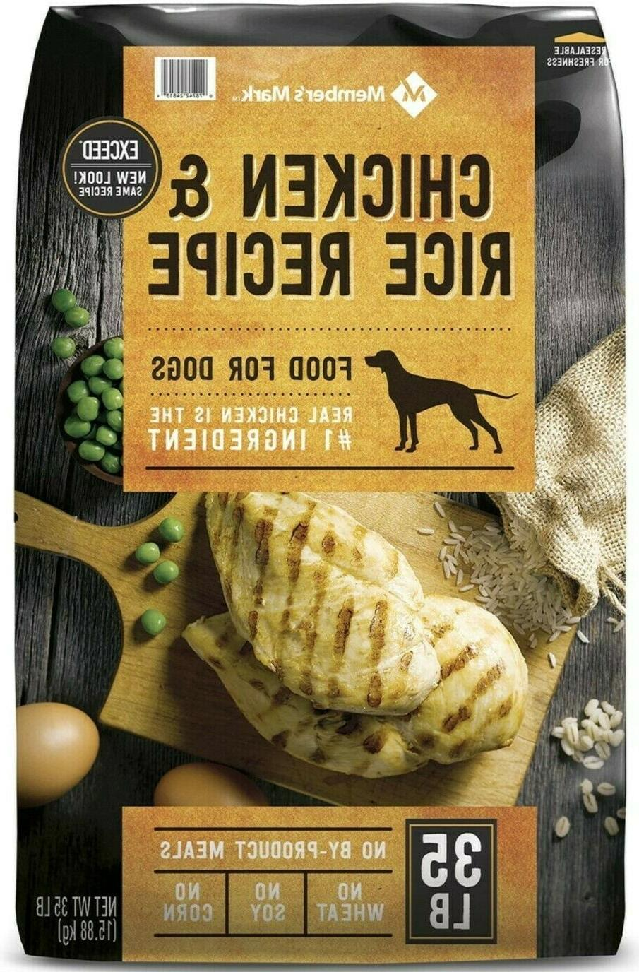 Member's Mark Exceed Dry Dog Food, Chicken & Rice  FREE SHIP