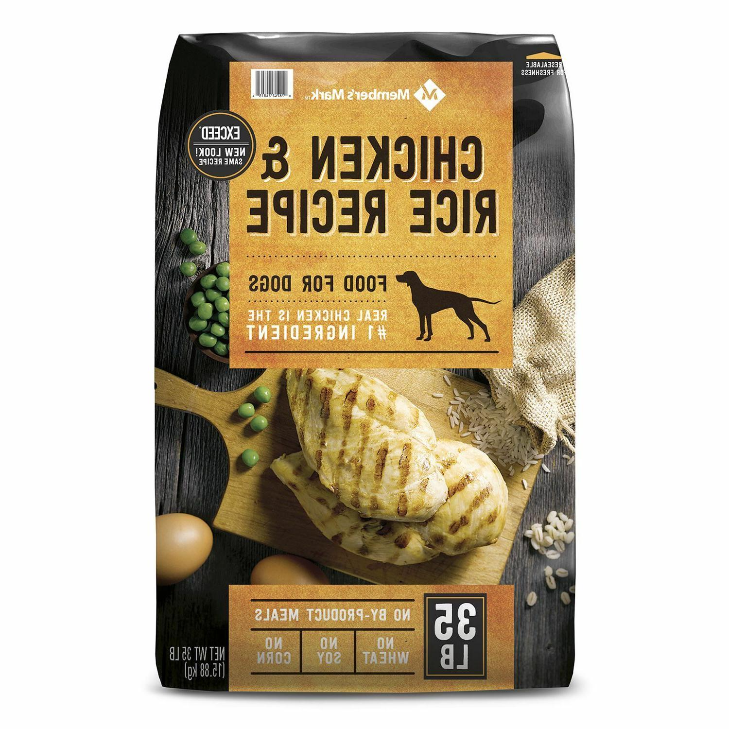 member s mark exceed dry dog food
