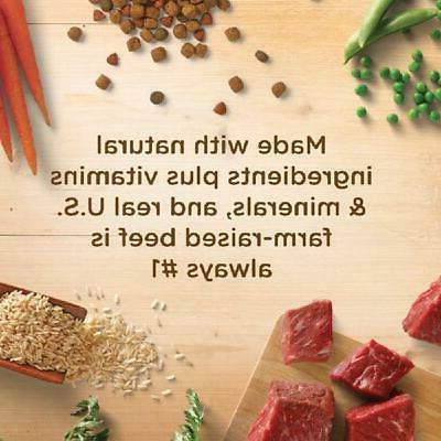 Rachael Dry Food Beef Pea Brown Rice Recipe