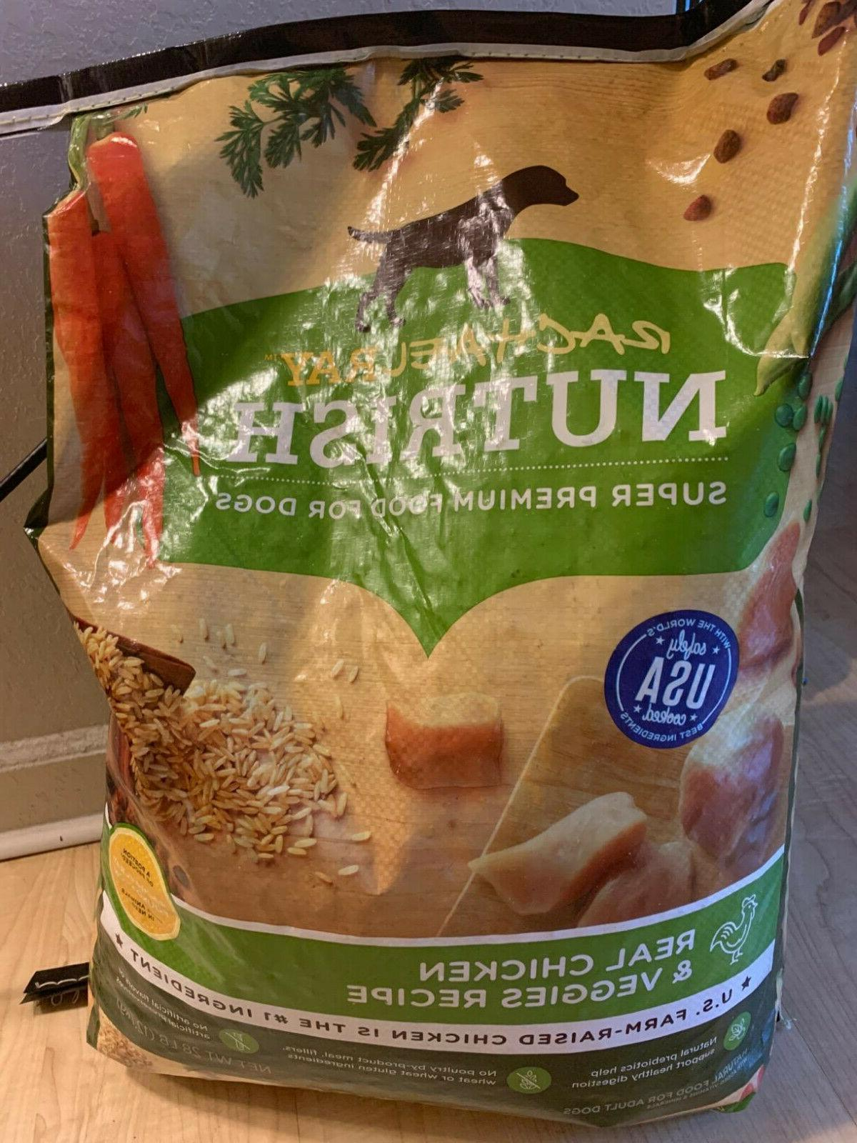 Rachael Ray Nutrish Dry Dog Food, Chicken &