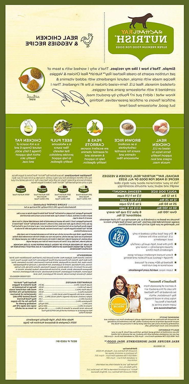 Rachael Nutrish Dry Chicken Veggies