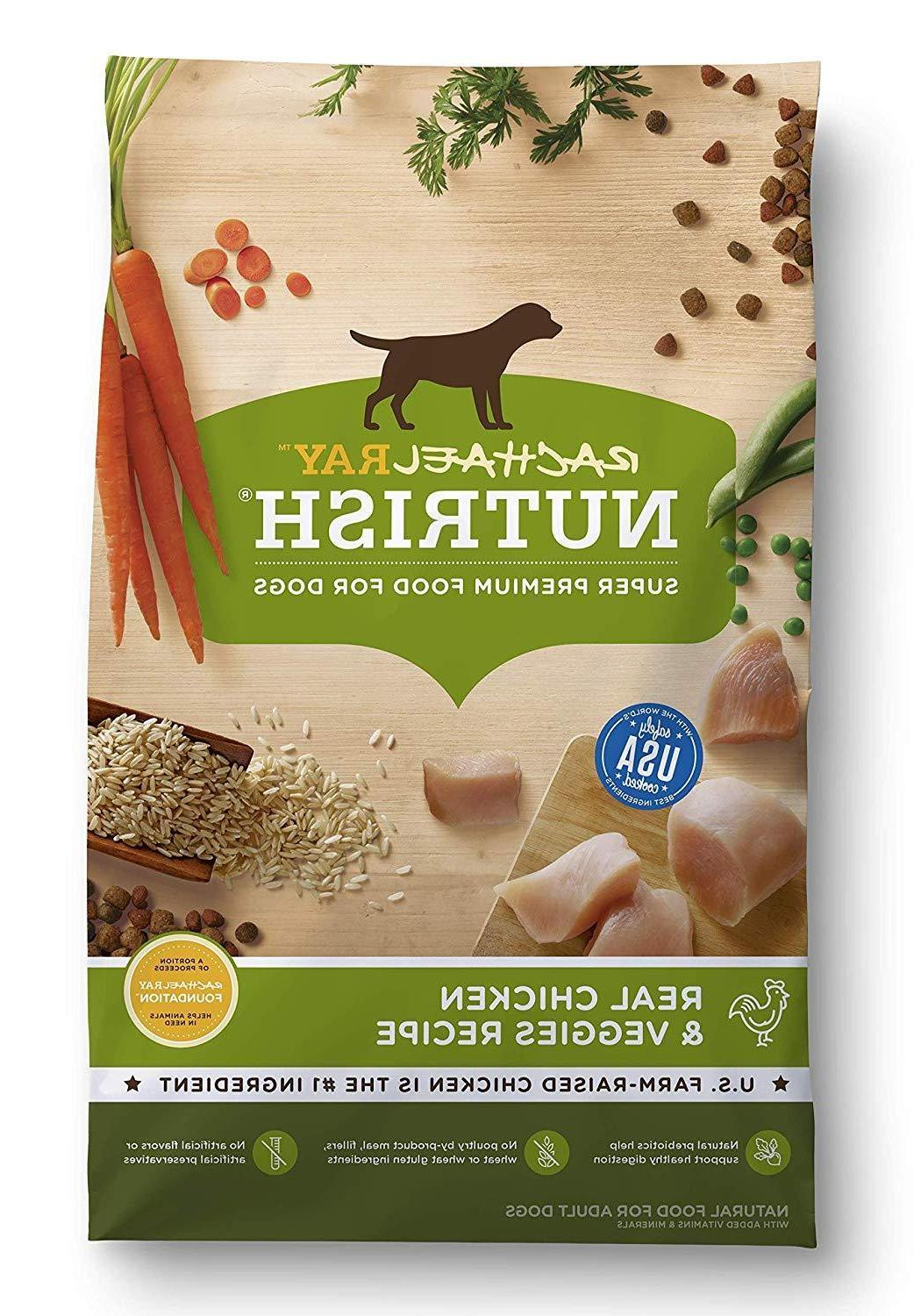 natural dry dog food real chicken