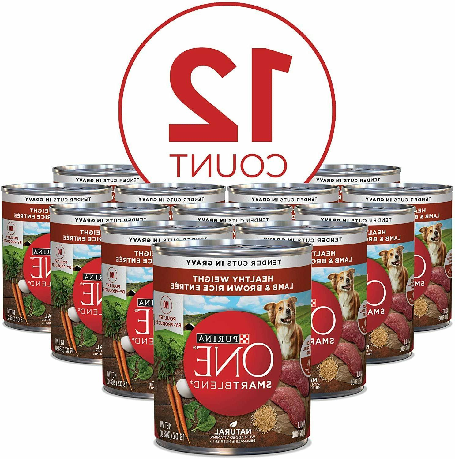 natural healthy adult canned wet dog food