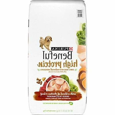 natural high protein dry dog food high