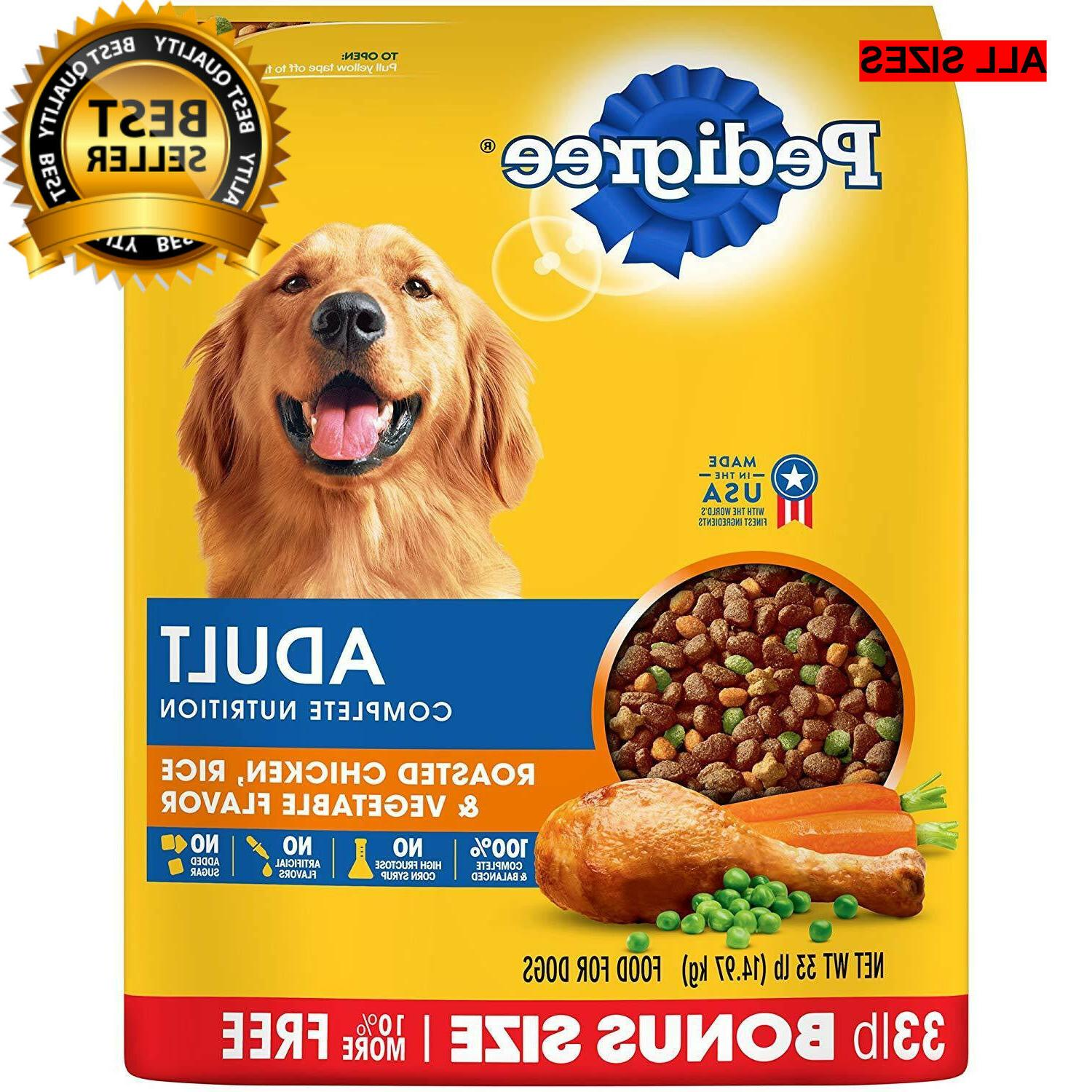new adult dry dog food roasted chicken
