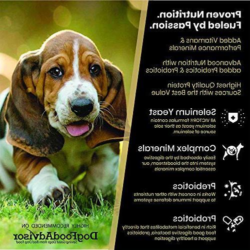 Victor Dry Dog Food, Lb. Bag