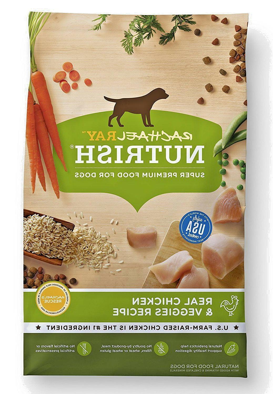 nutrish natural dry dog food real chicken