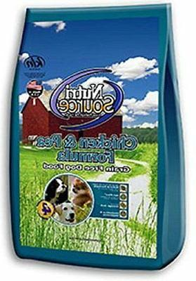 nutrisource grain chicken pea dry