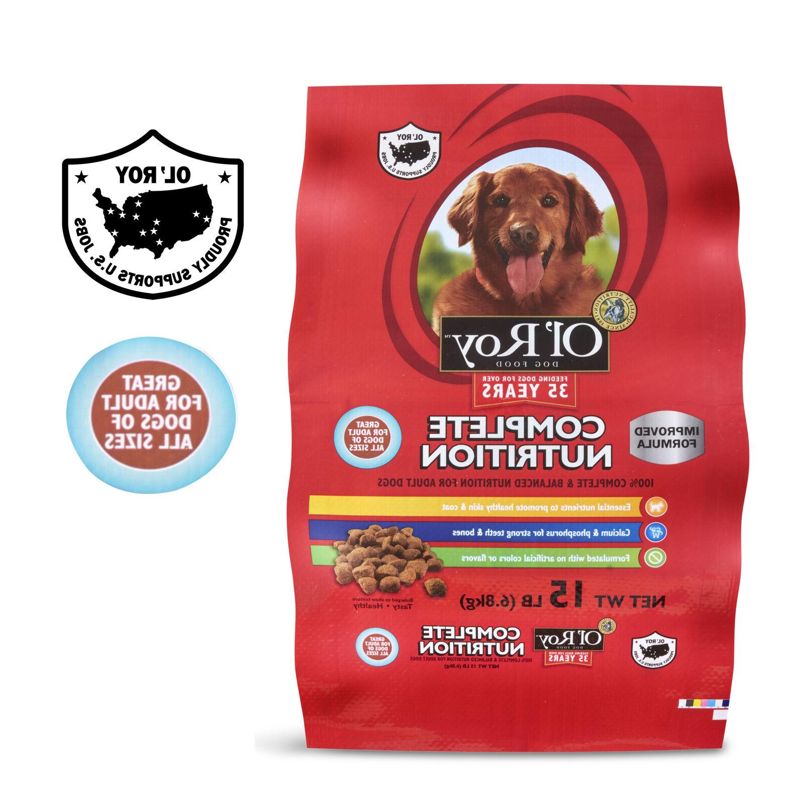 Ol Complete Adult Dog 15 - 2 Pack Free