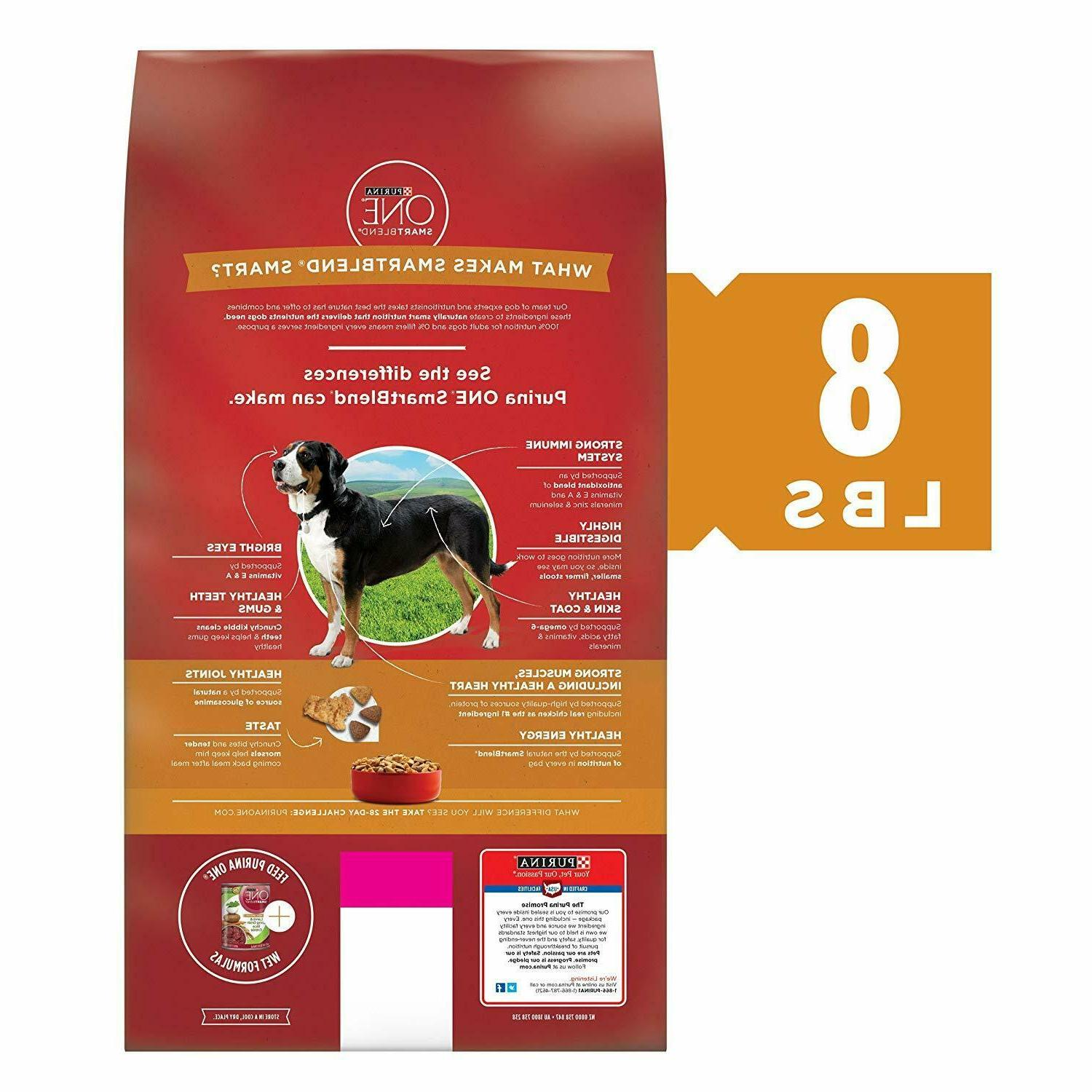 Purina ONE Dog Real & Support Healthy Joints