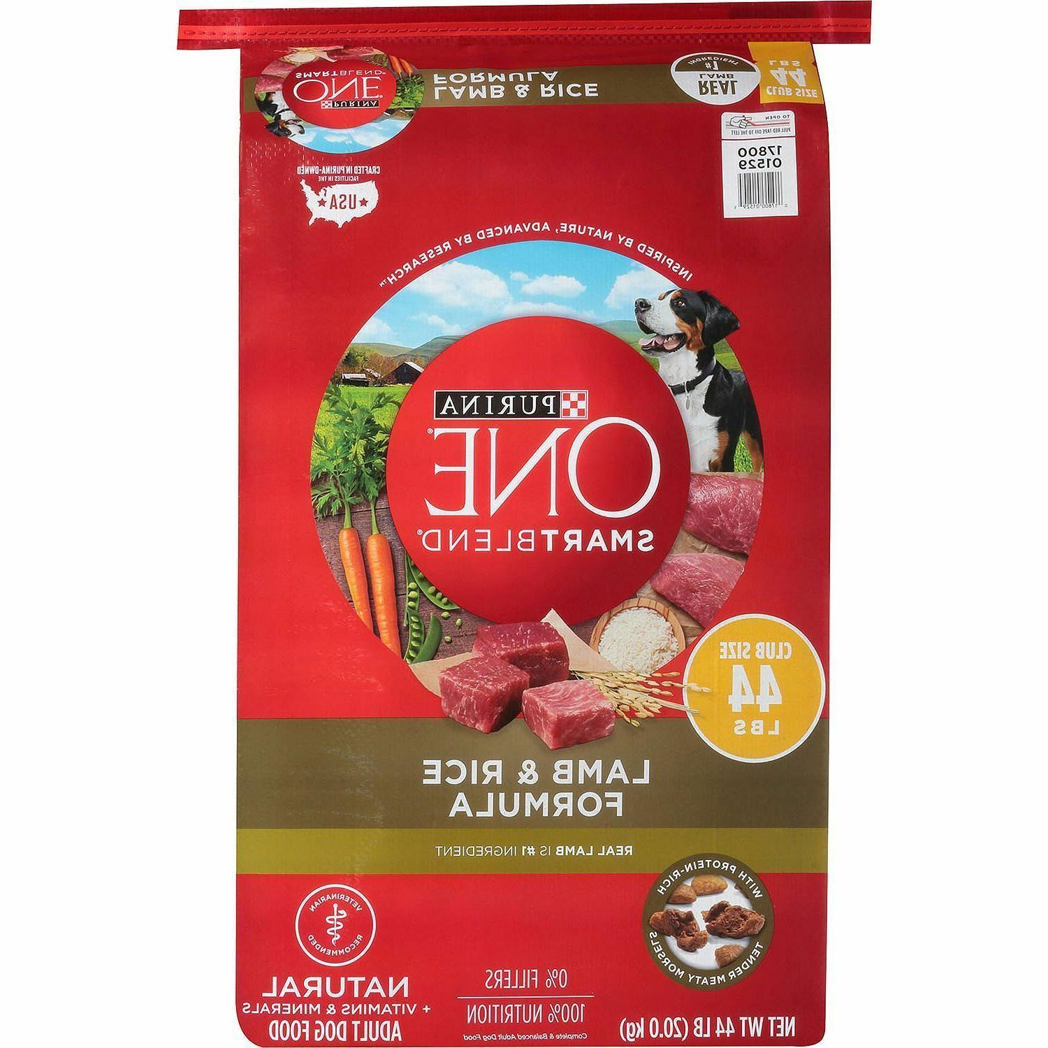 one smartblend natural lamb and rice formula