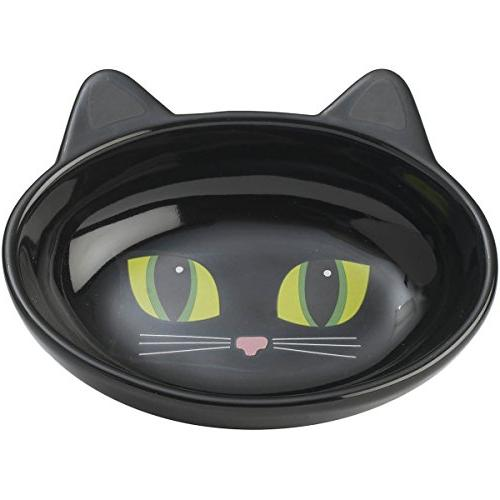 oval frisky kitty pet bowl