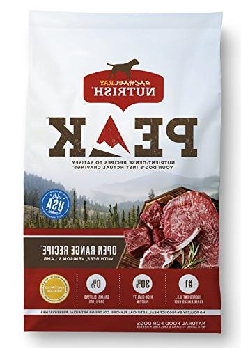 peak grain dry dog food