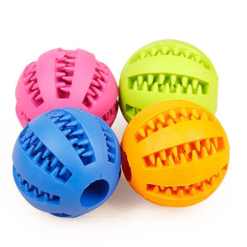 Pet Dog Food Dispenser Ball Training Toys