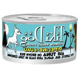 Tiki Dog Gourmet Whole Food 12-Pack Pipeline Luau Ahi Tuna o