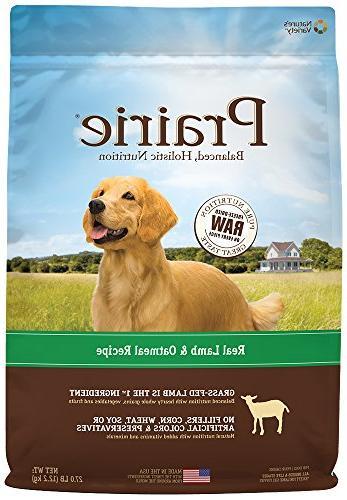 prairie lamb oatmeal recipe dry