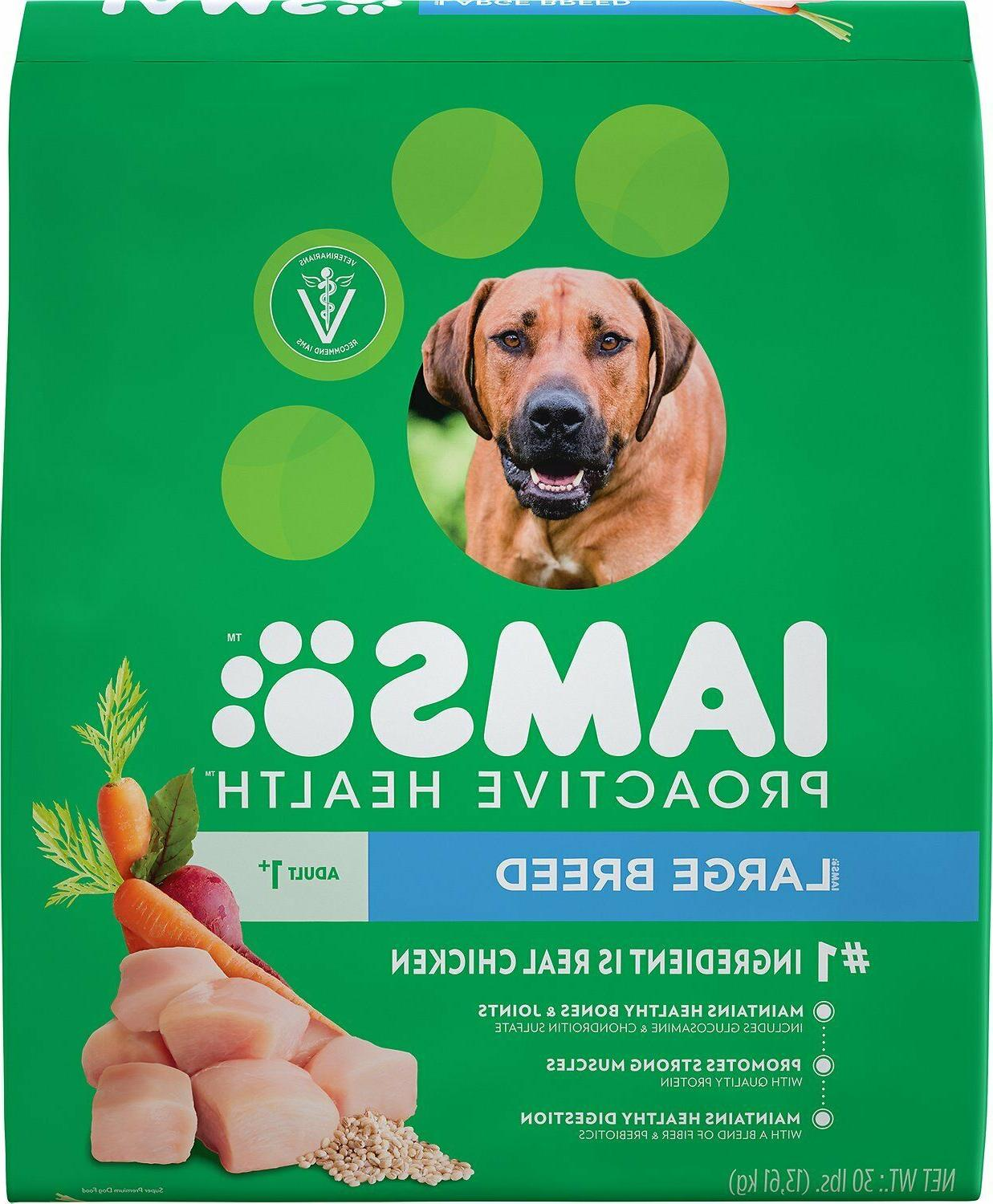 proactive health adult large breed dry dog