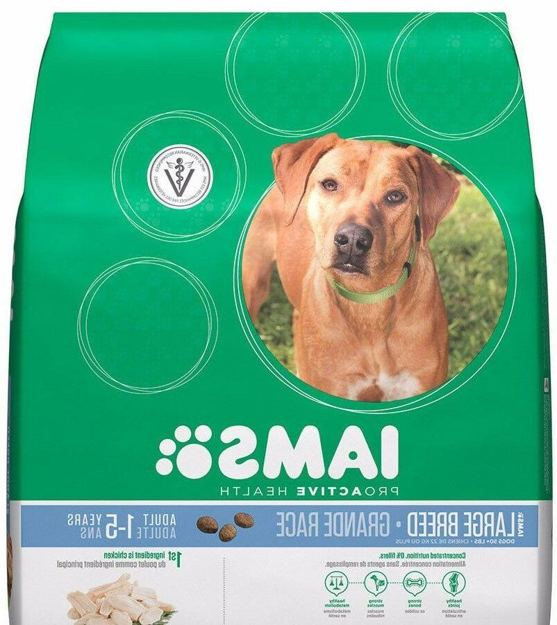 IAMS Proactive Health Dog Food Dry Large Breed 60 Pounds Fas