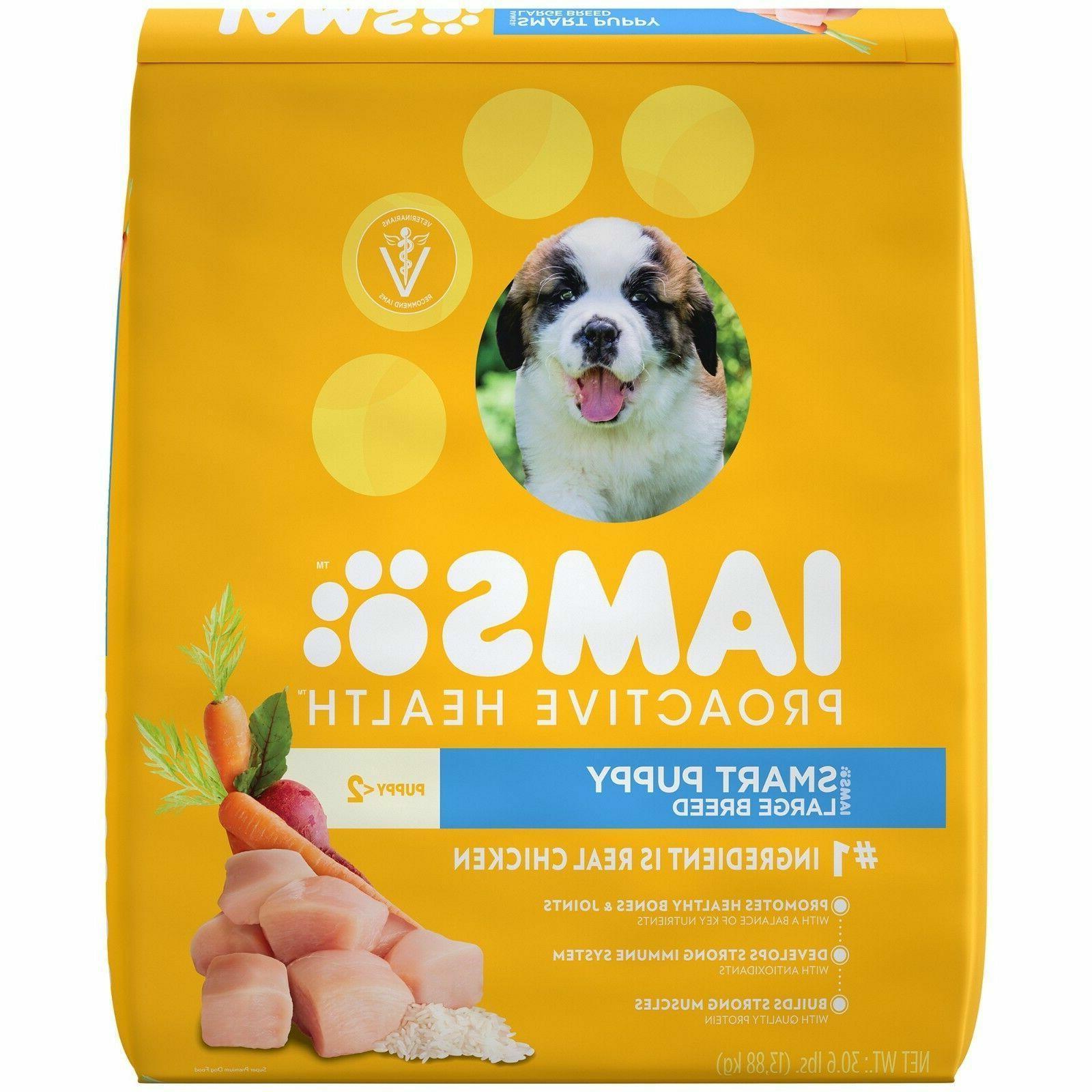 IAMS PROACTIVE HEALTH Puppy Dog Food lb. Bag
