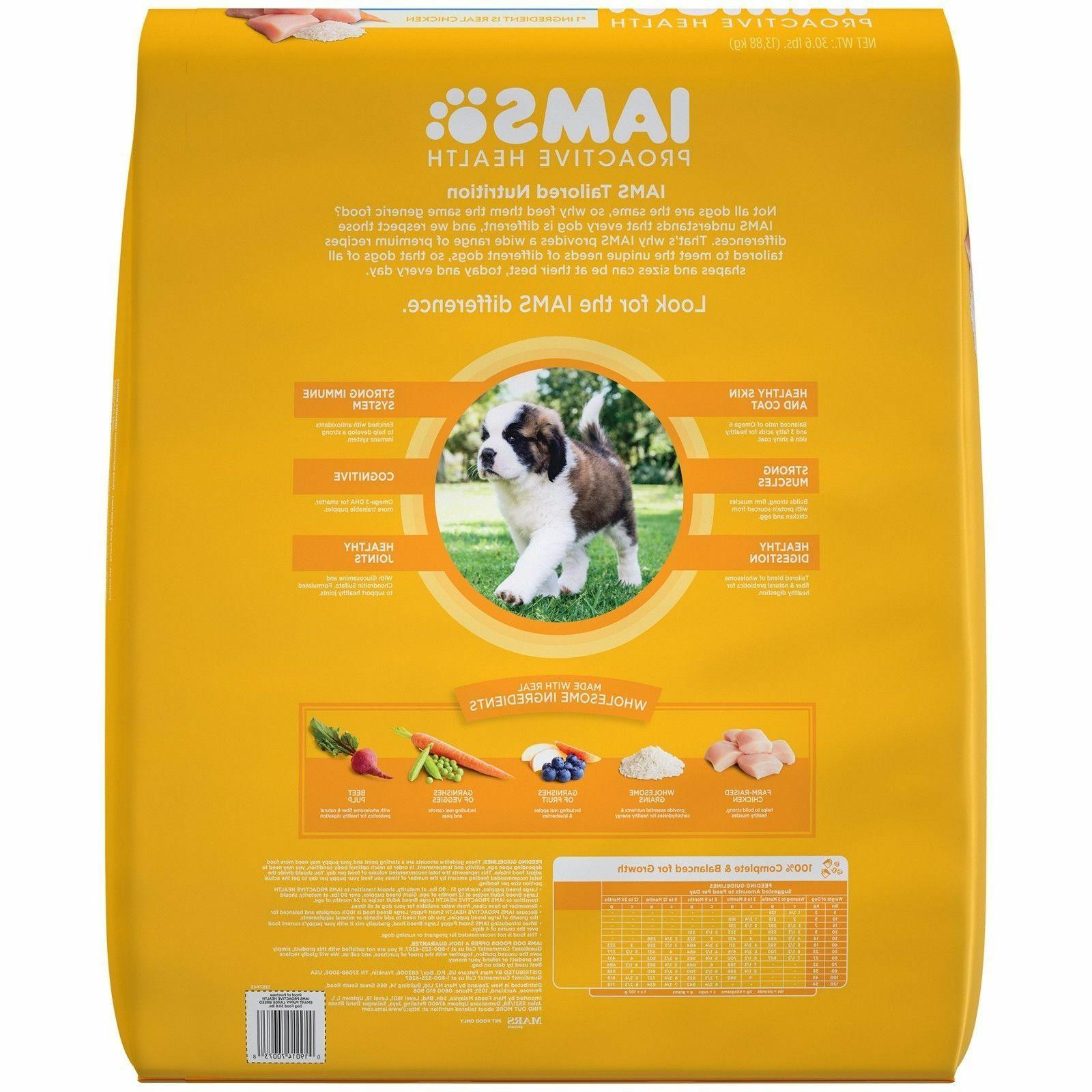proactive health smart puppy large breed dry