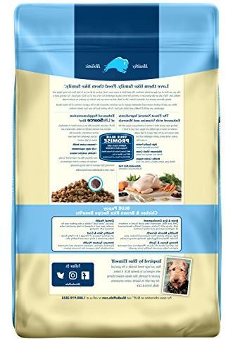 Blue Buffalo Formula Puppy Dog Food Chicken Brown Rice – 30 lb.