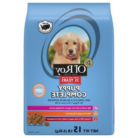 puppy complete dry dog food
