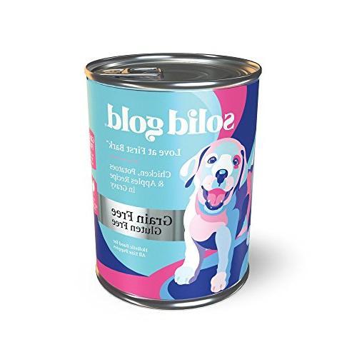 puppy wet food love first