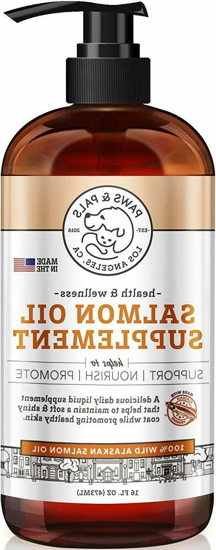 Paws & Pals Wild Alaskan Salmon Fish Oil Omega 3 & 6 for Dog