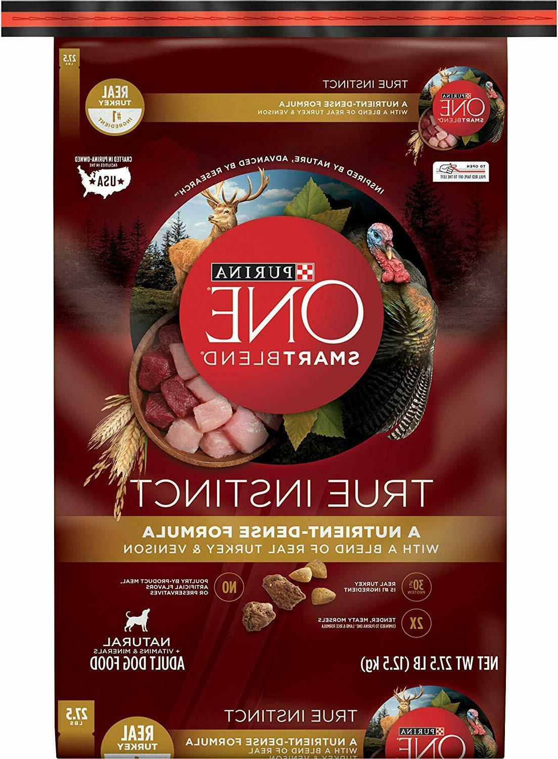 Purina ONE High Protein Natural Dry Food, SmartBlend
