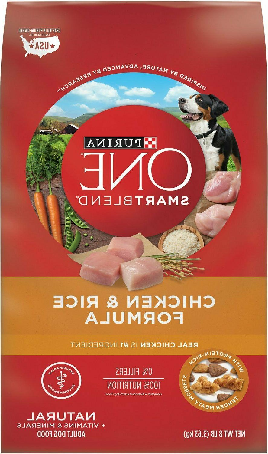 purina one smartblend natural chicken and rice