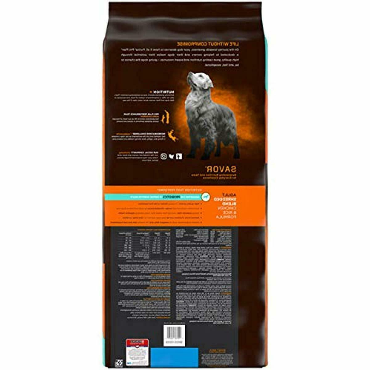 Purina Pro Shredded Blend With Adult Dry Dog